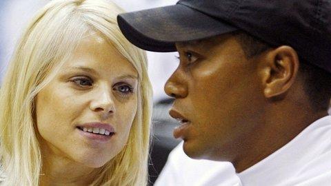 Det ryktes at Elin Nordegren kan få med seg tre milliarder kroner av Tiger Woods' formue om de skilles.