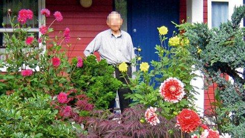 GOD NABO: Her er den avdøde 90-åringen avbildet i forbindelse med en artikkel i lokalavisen i 2006.