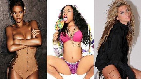 RIHANNA har invitert med Ke$ha og Nicki Minaj på turné.