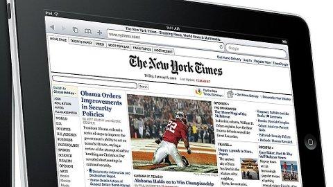 iPad, avis