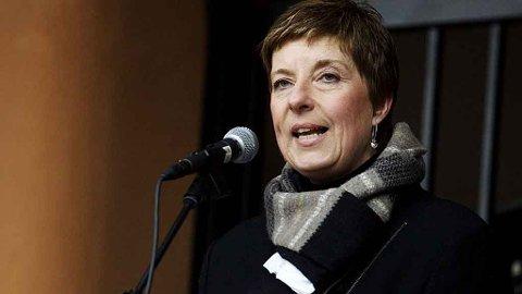 Forbundsleder Lisbeth Normann i Norsk Sykepleierforbund