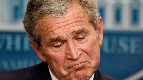 INGEN RASIST: Kanye Wests rasist-påstander etter orkanen Katrina var det verste øyeblikket George W. Bush opplevde som president.