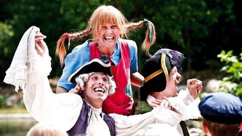 I Astrid Lindgrens värld kan du møte alle de kjente figurene, som for eksempel Pippi, Emil eller Ronja.