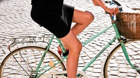 På sykkel kommer du deg enkelt, billig og raskt fram overalt i Kongens by.