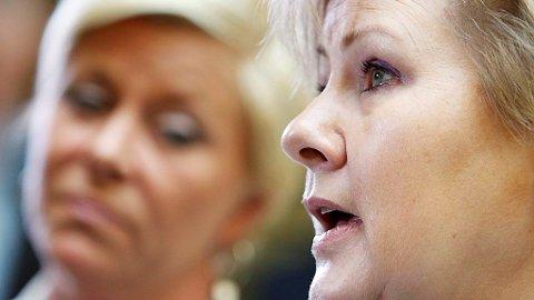 STØRST: Hadde det vært valg i dag ville FRP og Høyre hatt rent flertall sammen.