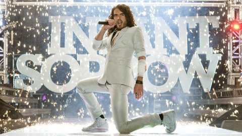 RUSSELL BRAND blir vill og galere enn Jonah Hill i «Get Him to the Greek».