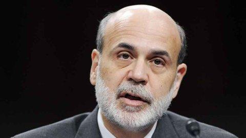 Sentralbanksjef Ben Bernanke