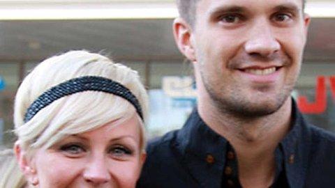 SKALGIFTE SEG: Kristian Kjelling og Madeleine Lundborg.