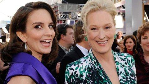 MOR OG DATTER PÅ FILM: Tina Fey og Meryl Streep er klar for å utforske mor-datter-relasjonen.