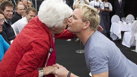 - Uten deg, ingen norske kokker, utbasunerte Gordon Ramsay til Ingrid Espelig Hovig under Gladmatfestivalen.