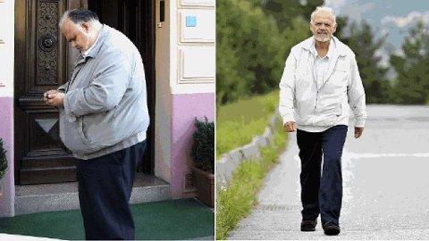 NYTT LIV: - Jeg har fått et nytt liv, alt er så mye enklere, sier Harald Olav Bjørge om livet etter vekttapet.
