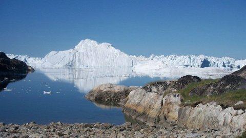 ISFJORD: Ilulissatfjorden står på UNESCOs verdensarvliste.
