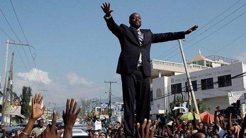 PRESIDENT: Wyclef Jean stilte selv som presidentkandidat, men myndighetene mente at han ikke var egnet.