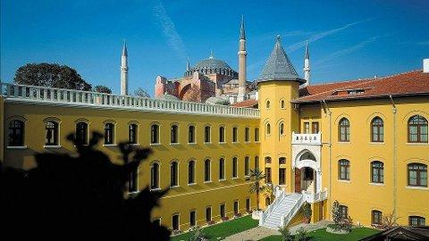 Fengselshotellet Four seasons i Istanbul.
