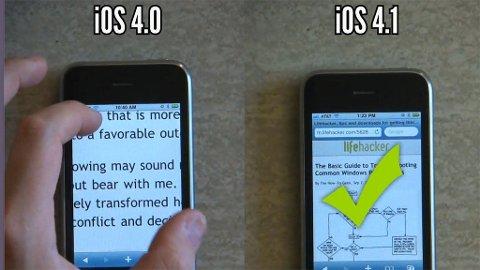 Det går bemerkelsesverdig mye raskere å få gjort ting på iPhone 3G med ny programvare.