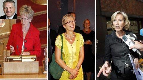 Øyvind Korsberg (innfelt) mener at både Magnhild Meltveit Kleppa, Liv Signe Navarsete og Anne-Grete Strøm-Erichsen bør gå av.