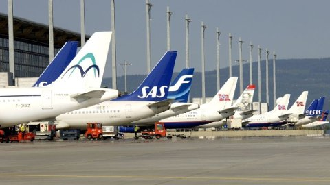 Oslo Lufthavn Gardermoen, OSL, Norwegian, SAS