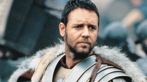 TÅREPERSE: - We who are about to die, salute you! Russell Crowe i Ridley Scotts «Gladiator» er en tåreperse for menn (og damer).