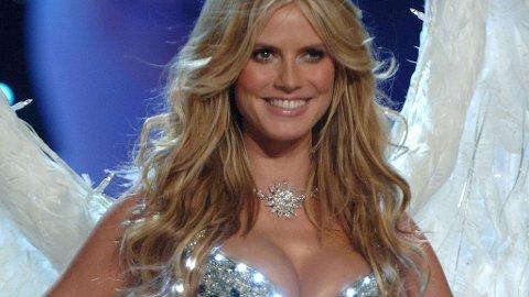 KJENT SYN: Den tyske supermodellen Heidi Klum har gått for Victoria's Secret før.