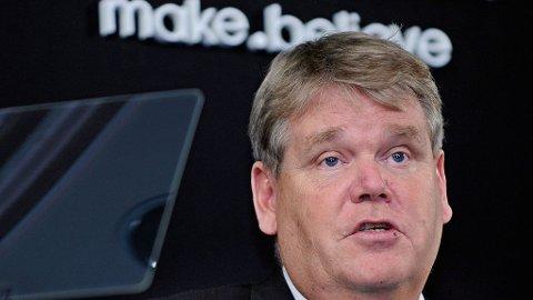 Bert Nordberg, administrerende direktør i Sony Ericsson.
