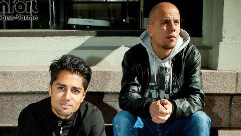 KARPE DIEM : Chirag og Magdi vant MTV-pris. Men må holde seg hjemme.