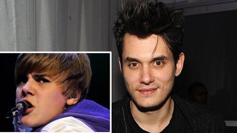 MORO: John Mayer bruker Justin Bieber for å gjøre et malariapoeng.