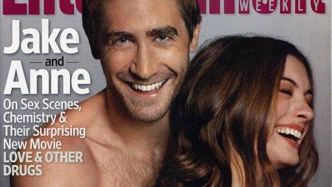 SKJULER LITE: Jake Gyllenhaal og Anne Hathaway spiller sammen for første gang siden «Brokeback Mountain».
