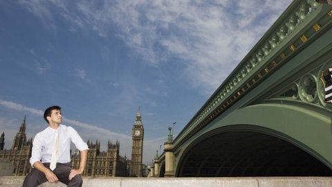 I London er det lov for menn å kjenne seg litt metroseksuelle.