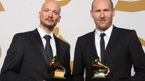 STARGATE: Mikkel S. Eriksen og Tor E. Hermansen vant Grammy for beste R&B-låt, Ne Yos «Miss Independent», i 2009.