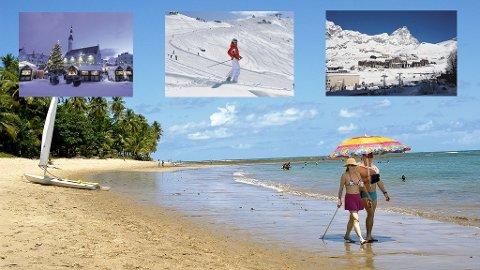 Sol og strand eller snø og ski - det er ditt valg.
