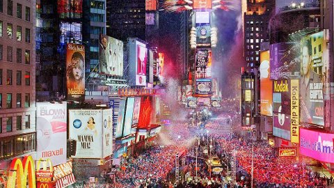 Frister nyttårsfeiring i New York?