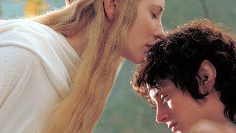 IKKE SÅ FREDELIG I MIDGARD: «Hobbiten»har havnet i fagforeningskrangel før den har fått grønt lys fra storstudioene. Her Galadriel (Cate Blanchett) og Frodo (Elijah Wood) fra «Ringenes Herre».