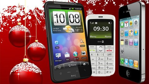 HTC Desire HD, Doro PhoneEasy 332 og Apple iPhone 4 er gode valg om du skal legge en mobil under juletreet.