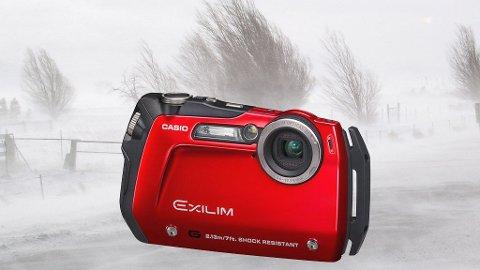 De tøffeste kameraene tåler både støt, fall og dykking.