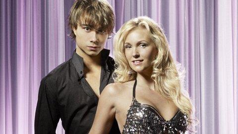 ALEXANDER RYBAK med sin dansepartner Malin Johansson i svenske «Let's Dance».