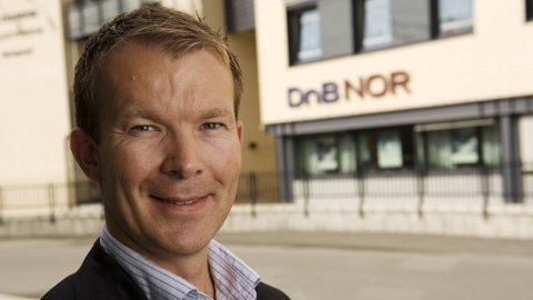 Pressesjef Thomas Midteide i DnB Nor. Tidligere kommunikasjondirektør i SAS Norge