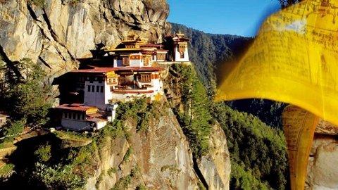 Taktshang betyr tigerens rede, fordi Guru Rinpoche, som antatt skal være den andre Buddha, visstnok fløy hit på ryggen av en hunntiger i år 746. Et av Bhutans vakreste buddhistklostre.