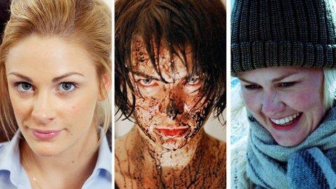 JENNY SKAVLAN, Ida Elise Broch og Ellen Dorrit Pedersen blir å se i to filmer hver på kino før høsten.