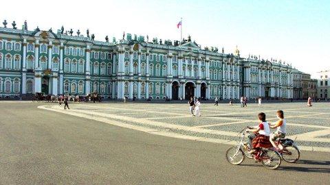 Vinterpalasset er den fremste, men langt fra den eneste, bygningen i det formidable museet Ermitasjen.