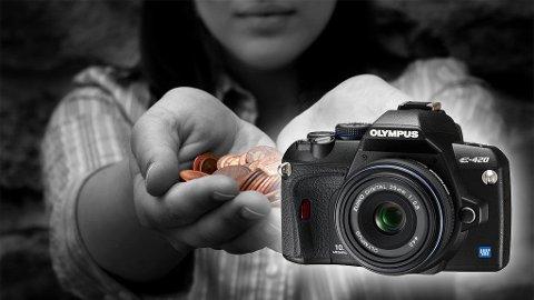 Med dagens kamerapriser kan hvem som helst få tak i godt utstyr til en billig penge.