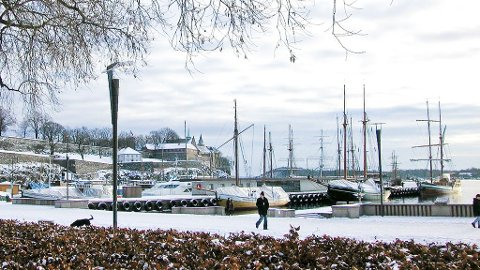 Gåtur langs Oslo havn.
