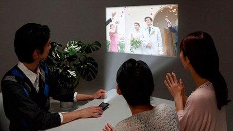 Med projektormobilen blir du garantert festens midtpunkt, eller?