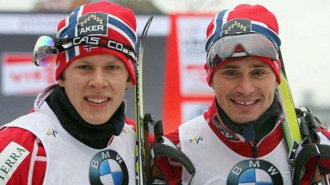Ola Vigen Hattestad og Anders Gløersen