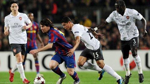 FÅR KJEFT: Arsenal får kjeft av Barcelonas president Sandro Rosell, etter at nok en unggutt er hentet til London fra spanjolenes ungdomsakademi.