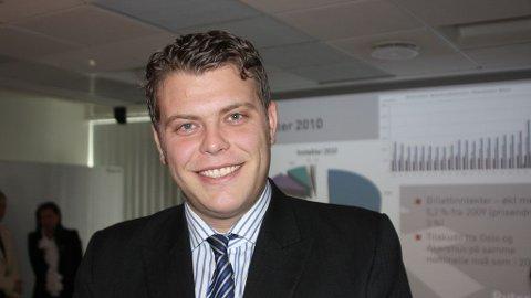 OPPTATT AV POLITIKKEN: Samferdselsbyråd Jøran Kallemyr (Frp) mener ordføreren har mer symbolsk enn praktisk verdi.