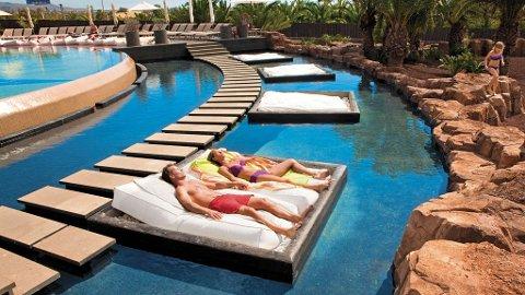 Meloneras på Gran Canaria er en by der det investeres i mer eksklusive resorts, som dette Lopesan-anlegget.
