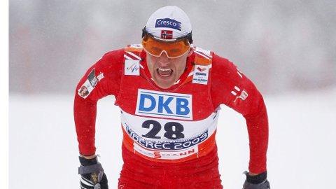 FØRSTEMANN: Tor Arne Hetland var førstemann til å bli verdensmester i skisprint