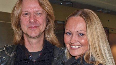 ASLAG HAUGEN og Cathrine Myhren har giftet seg.