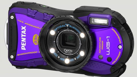 Rambo-kameraet Pentax Optio WG-1 gjør en barsk debut i mars.