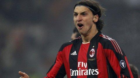 JAKTER MÅL: Tottenham må stoppe Zlatan Ibrahimovic, som har hatt en strålende sesong i Milan-drakta.